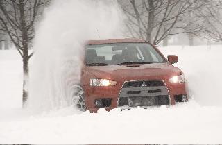 Evo MR in the snow