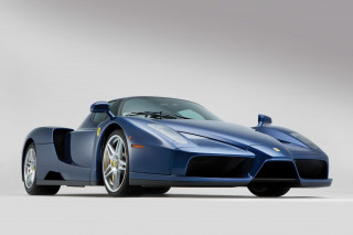 Rare blue Ferrari Enzo heading to auction in London