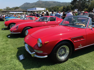 Great Ferraris at The Quail 2017