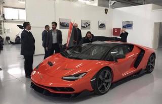 Lamborghini delivers first of 40 Centenarios