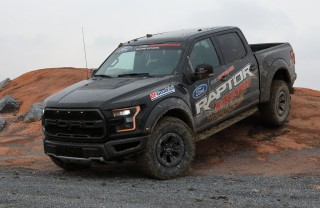 Ford F-150 Raptor Assault off-road driving course