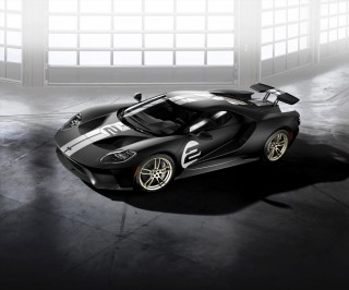 2017 Ford GT '66 Heritage Edition to commemorate 1966 Le Mans win