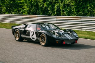 1966 Ford GT40, chassis P1046 at Lime Rock Park