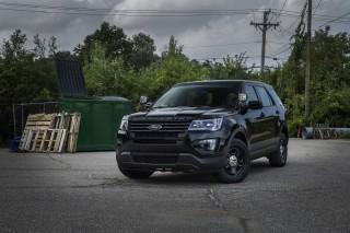 Ford's no profile police car light bar