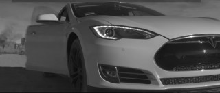 """Frame from """"Tesla—Not a Dream"""" unofficial commercial video, 2016, directed by Freise Brothers"""