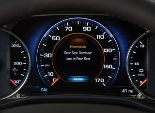 General Motors' Rear Seat Reminder