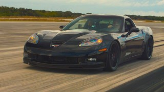 Electric Corvette sets new land speed record