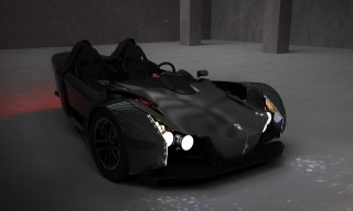 Girfalco Azkarra electric 3-wheeler does 0-60 in 2.5 s