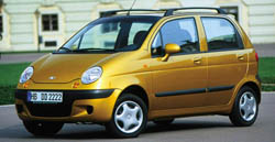 GM looks to Daewoo for small car platforms