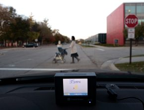 GM's vehicle-to-vehicle communication system