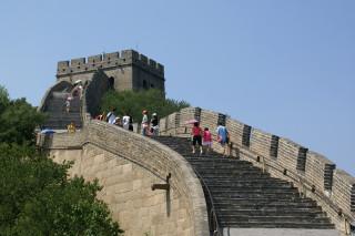 Great Wall of China (via Wikimedia)