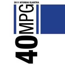 Hyundai Elantra 40 mpg