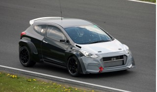 Hyundai i30 N development car