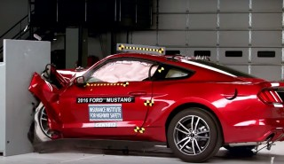 IIHS crash tests 2016 Ford Mustang