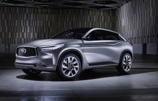 Infiniti QX Sport Inspiration concept, 2016 Beijing Auto Show