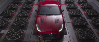 Jaguar creates art using the exhaust note of the F-Type SVR