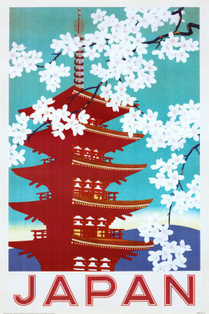 Japanese travel poster
