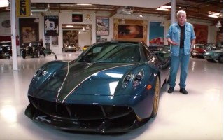 Jay Leno and the Pagani Huayra