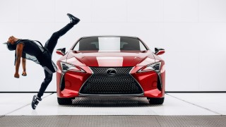 "Lexus ""Man & Machine"" commercial"