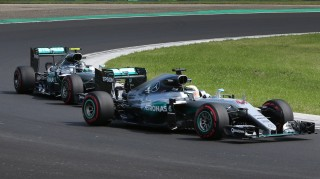 Mercedes AMG at the 2016 Formula One Hungarian Grand Prix