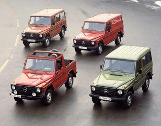 Mercedes-Benz G-Class lineup