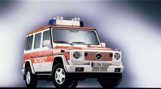Mercedes-Benz G-Class police vehicle