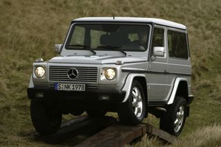 Mercedes-Benz G-Class suspension articulation
