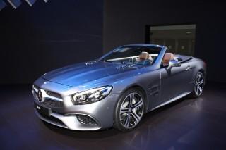 2017 Mercedes-Benz SL450, 2015 Los Angeles Auto Show
