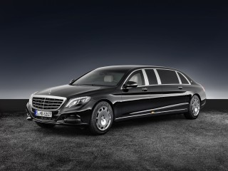 Mercedes-Maybach S600 Pullman Guard is a glorious--and tough--limo