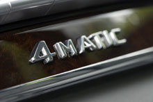 Mercedes seeks increase in global sales of 4Matic AWD