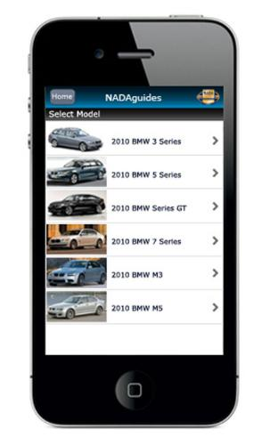 NADAGuides mobile site