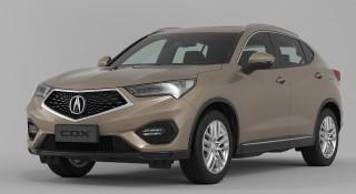 2016 Acura CDX (Chinese spec)