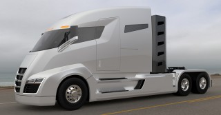 Nikola unveils how its electric truck works: custom hydrogen fuel cell