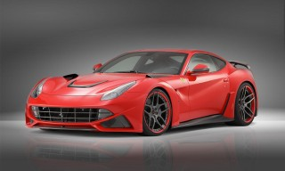 Novitec Rosso's wide-body Ferrari F12 Berlinetta
