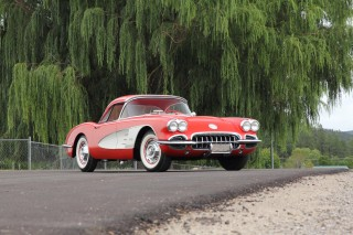 One of the Ron MacWhorter Corvettes auctioned at Mecum in Dallas