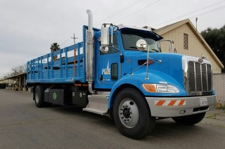 Plug-in hybrid utility truck keeps lights on during emergencies