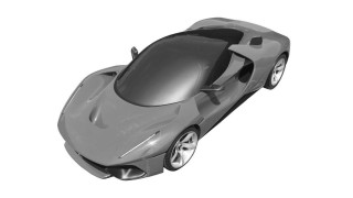 Ferrari files patent drawings for LaFerrari-like hypercar