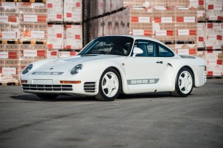 Very special Porsche 959 Sport heads to auction in Paris