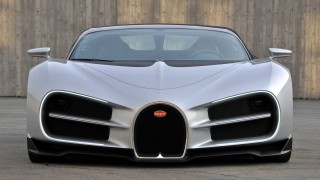 Proposed design for Bugatti Chiron by Sasha Selipanov - Image via CNET