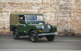 Restored Land Rover Series 1