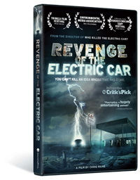 Revenge Of The Electric Car DVD Box