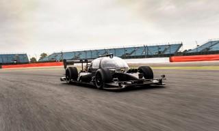 Roborace autonomous race car prototype
