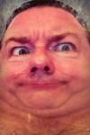 Selfie by Ricky Gervais (via Wikimedia)