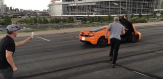 Skateboarder-smashing McLaren video was a planned hoax