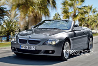 Spy Shots: 2007 BMW 6-series facelift