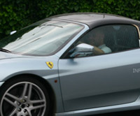 Spy Shots: Ferrari F430 Spider with new hardtop roof