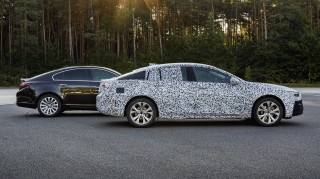 Teaser for 2017 Opel Insignia Grand Sport