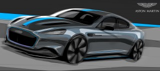 Electric Aston Martin RapidE delayed until 2019 after LeEco exit
