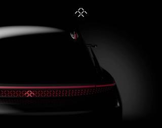 Teaser for Faraday Future elecric car debuting at 2017 Consumer Electronics show