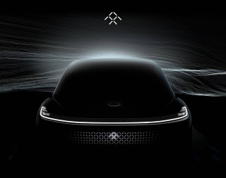 Faraday Future electric car teased ahead of 2017 CES debut